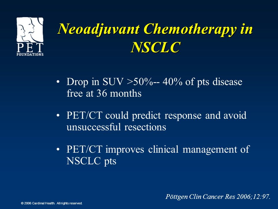 Neoadjuvant Chemotherapy in NSCLC