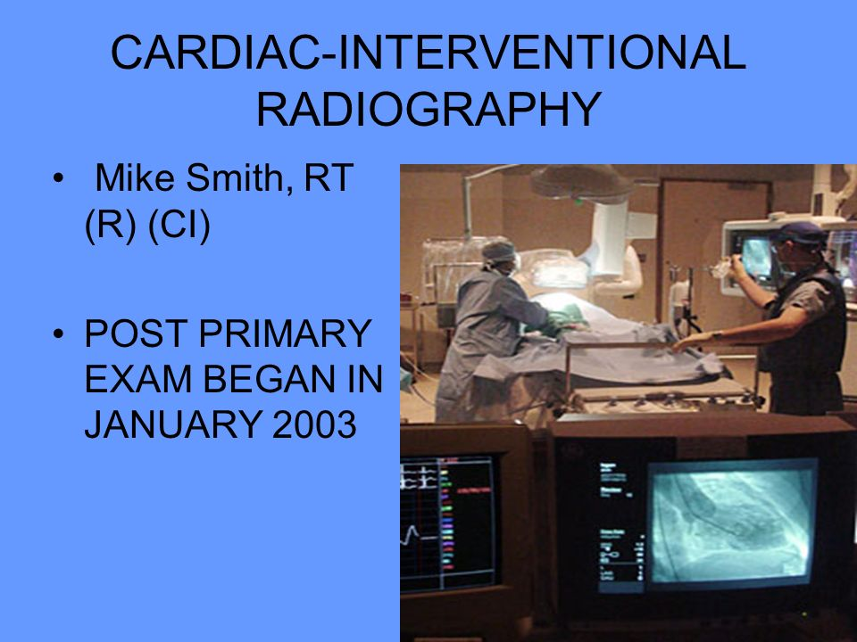 CARDIAC-INTERVENTIONAL RADIOGRAPHY