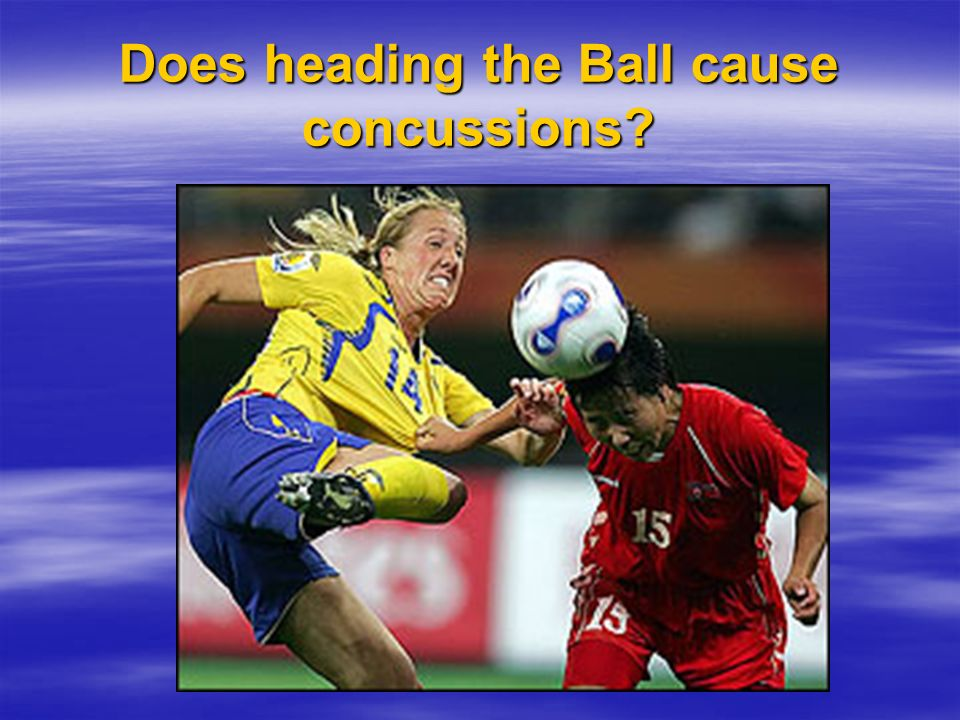Does heading the Ball cause concussions