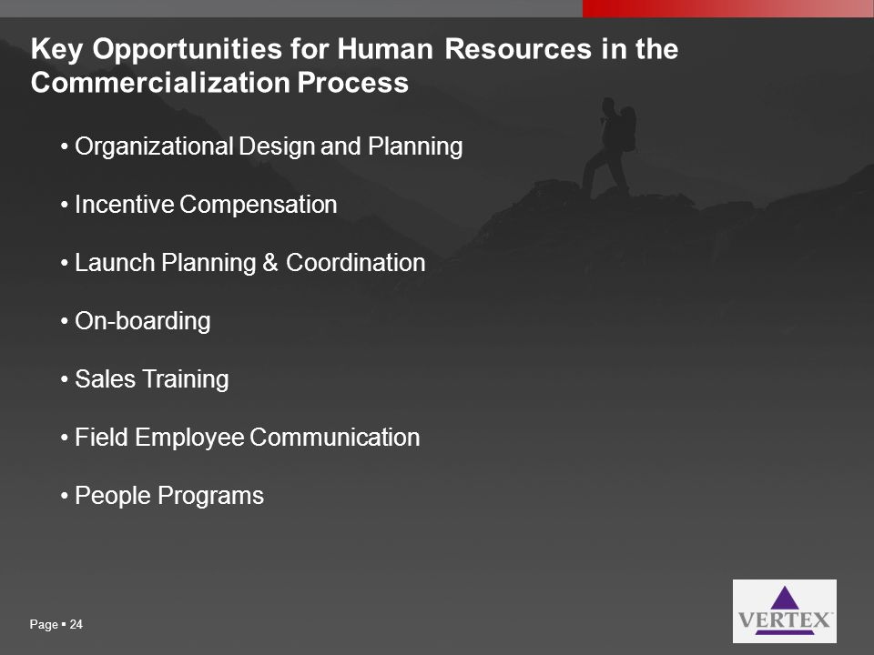 Key Opportunities for Human Resources in the Commercialization Process