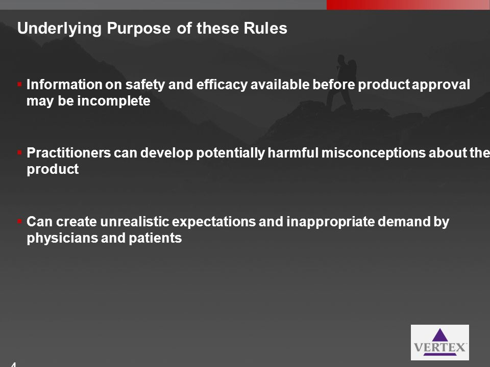 Underlying Purpose of these Rules