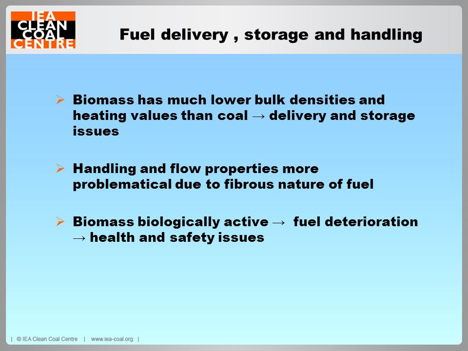 Fuel delivery , storage and handling