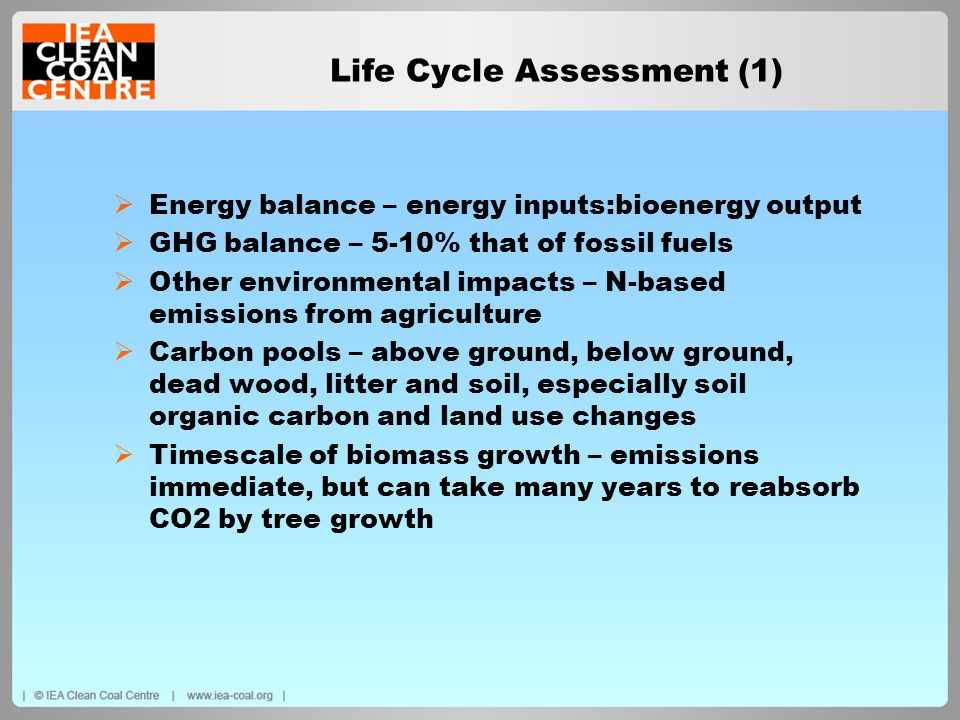 Life Cycle Assessment (1)