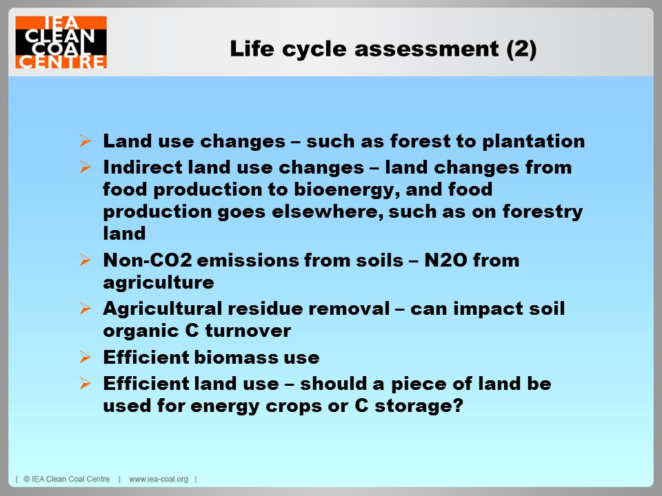 Life cycle assessment (2)