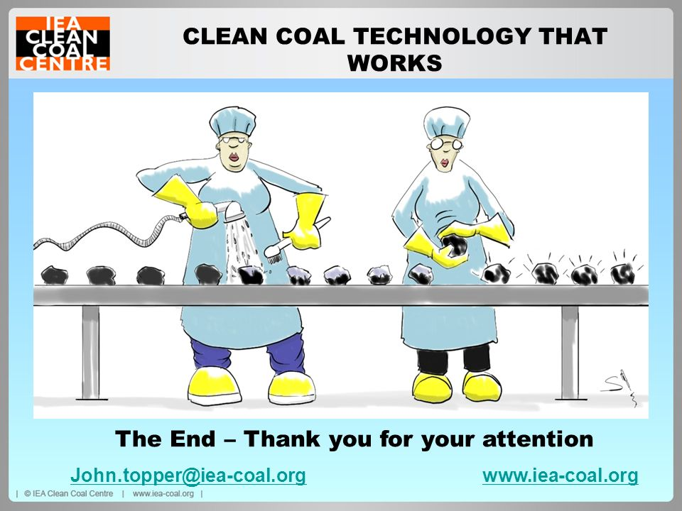 CLEAN COAL TECHNOLOGY THAT WORKS