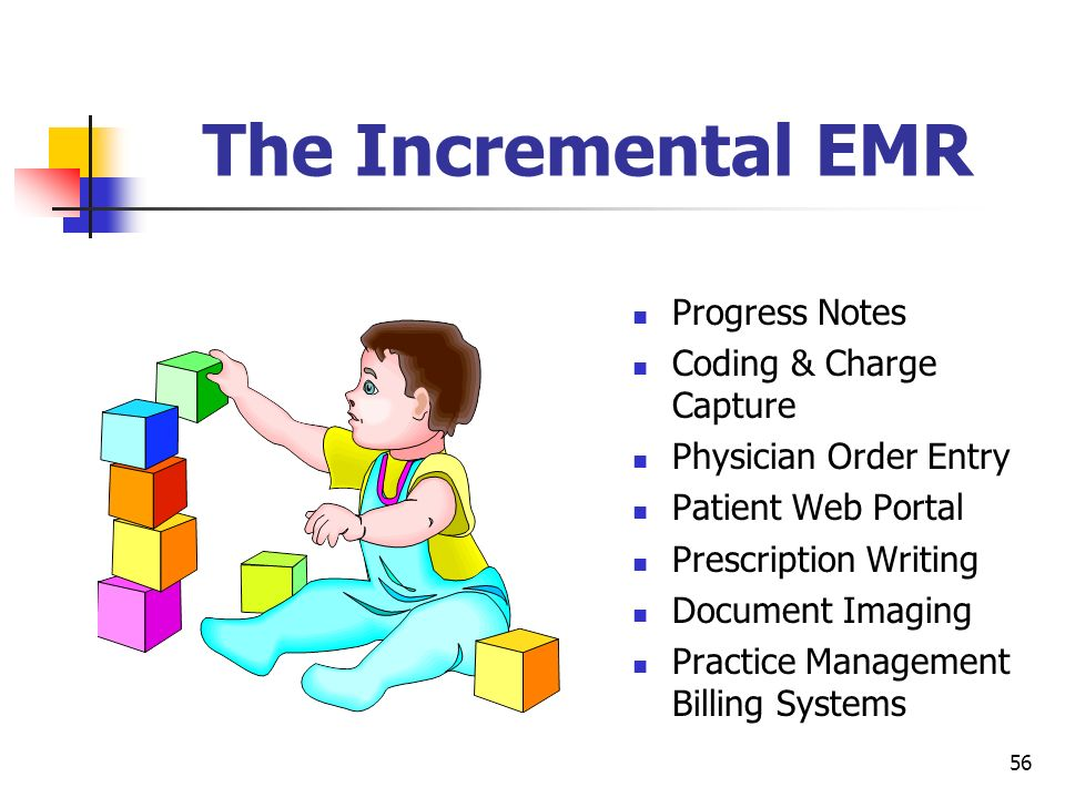 The Incremental EMR Progress Notes Coding & Charge Capture