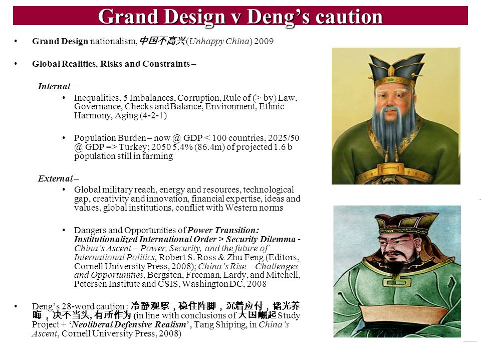Grand Design v Deng's caution