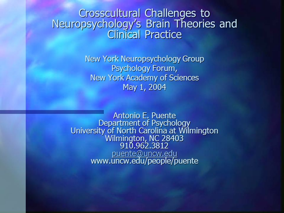 Crosscultural Challenges to Neuropsychology's Brain Theories and Clinical Practice