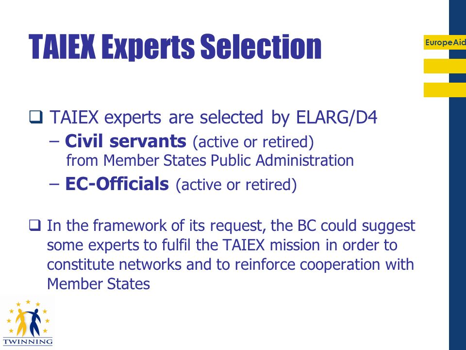 TAIEX Experts Selection