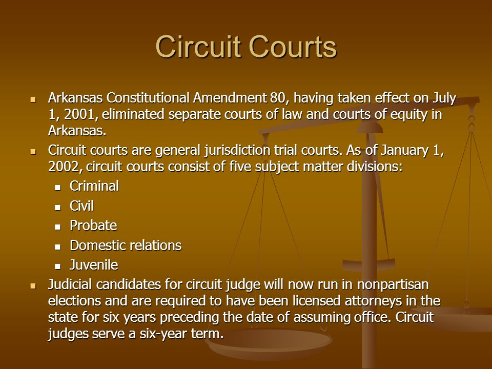 Circuit Courts