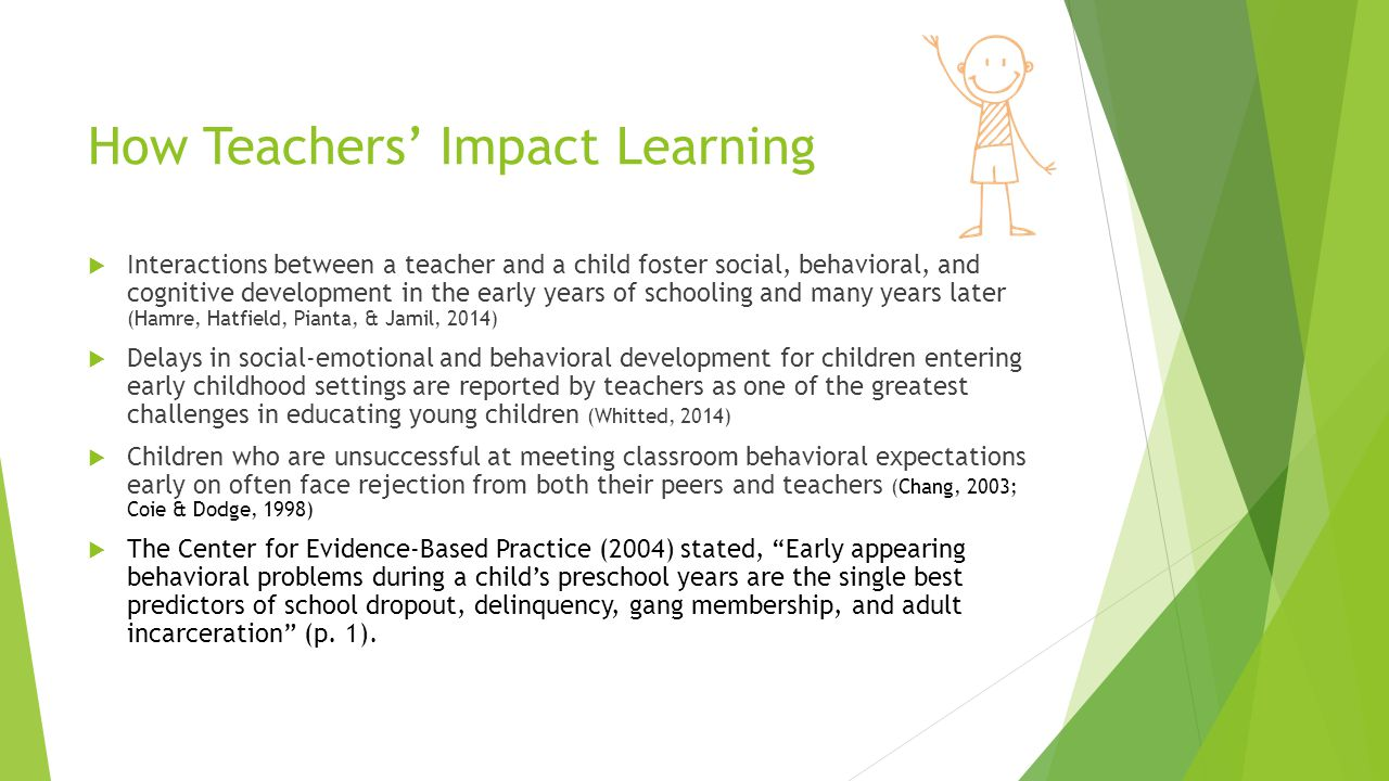How Teachers' Impact Learning