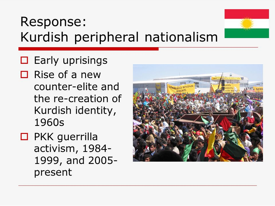 Response: Kurdish peripheral nationalism