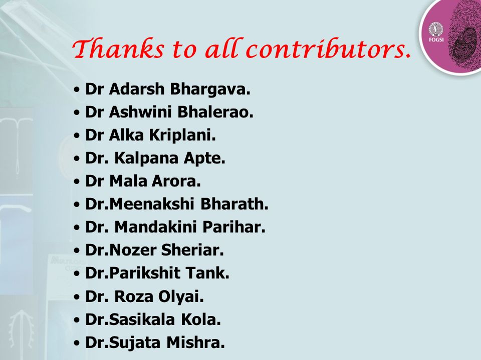 Thanks to all contributors.