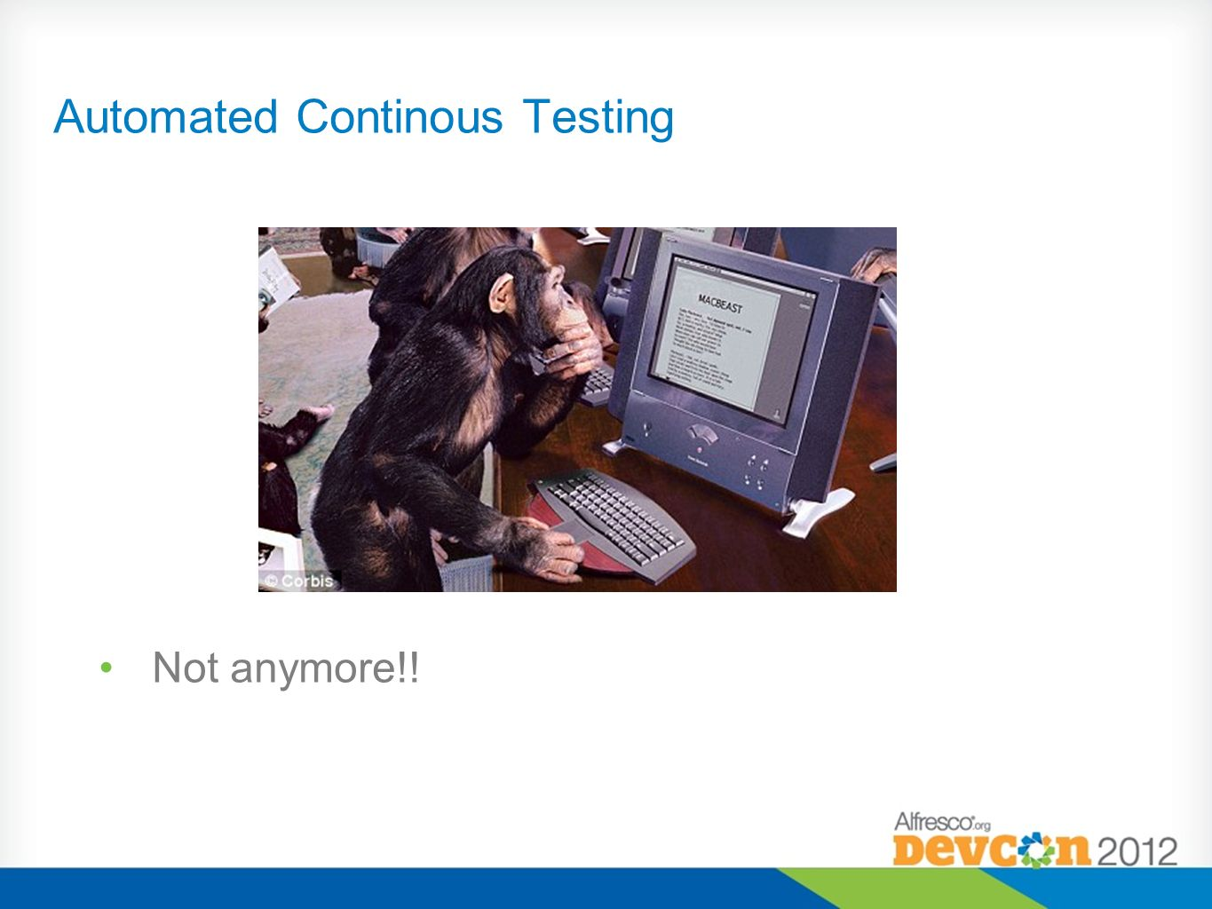 Automated Continous Testing