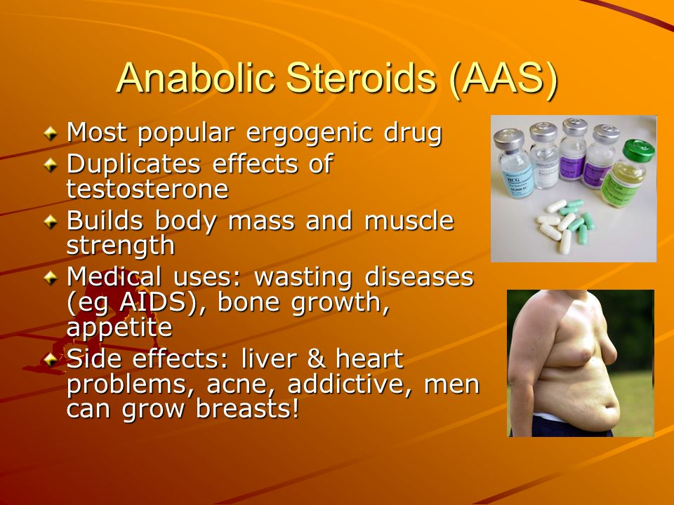 Anabolic Steroids (AAS)