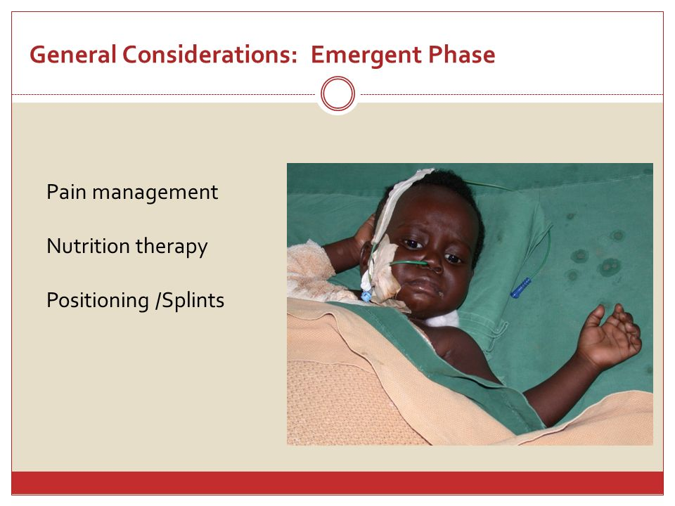 General Considerations: Emergent Phase