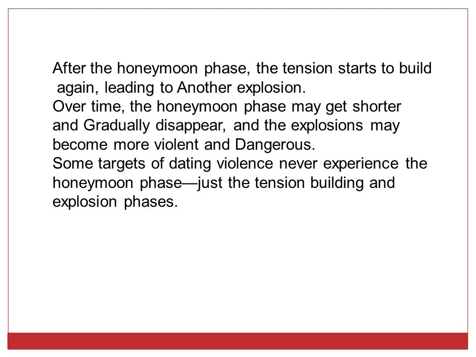 dating phase relationship