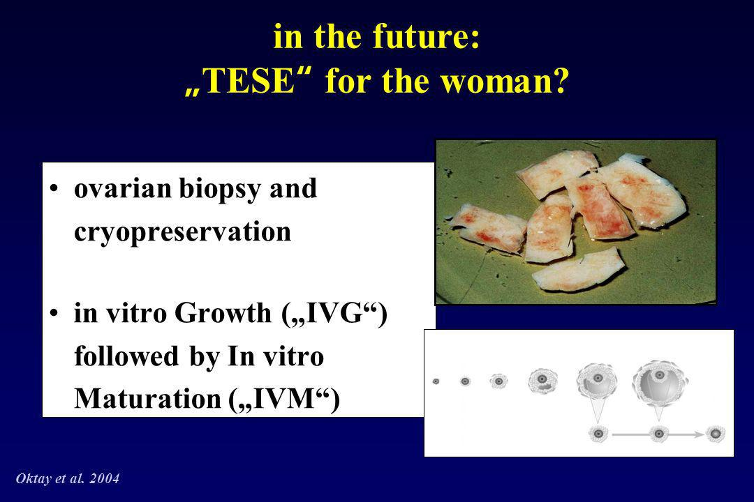 "in the future: ""TESE for the woman"