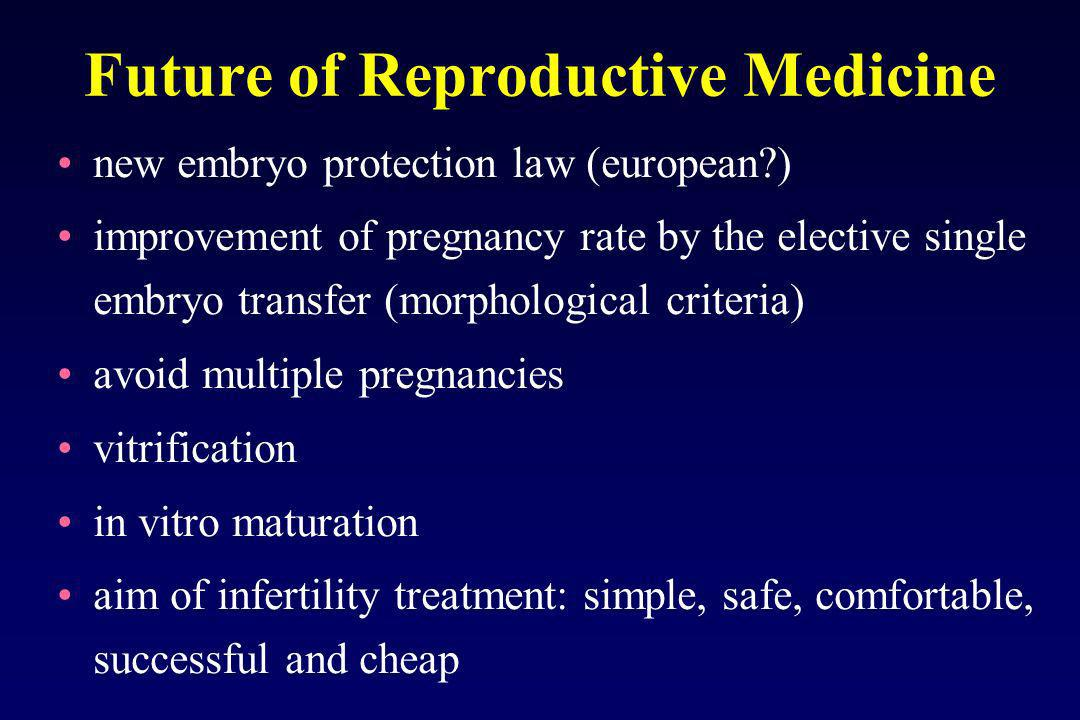 Future of Reproductive Medicine