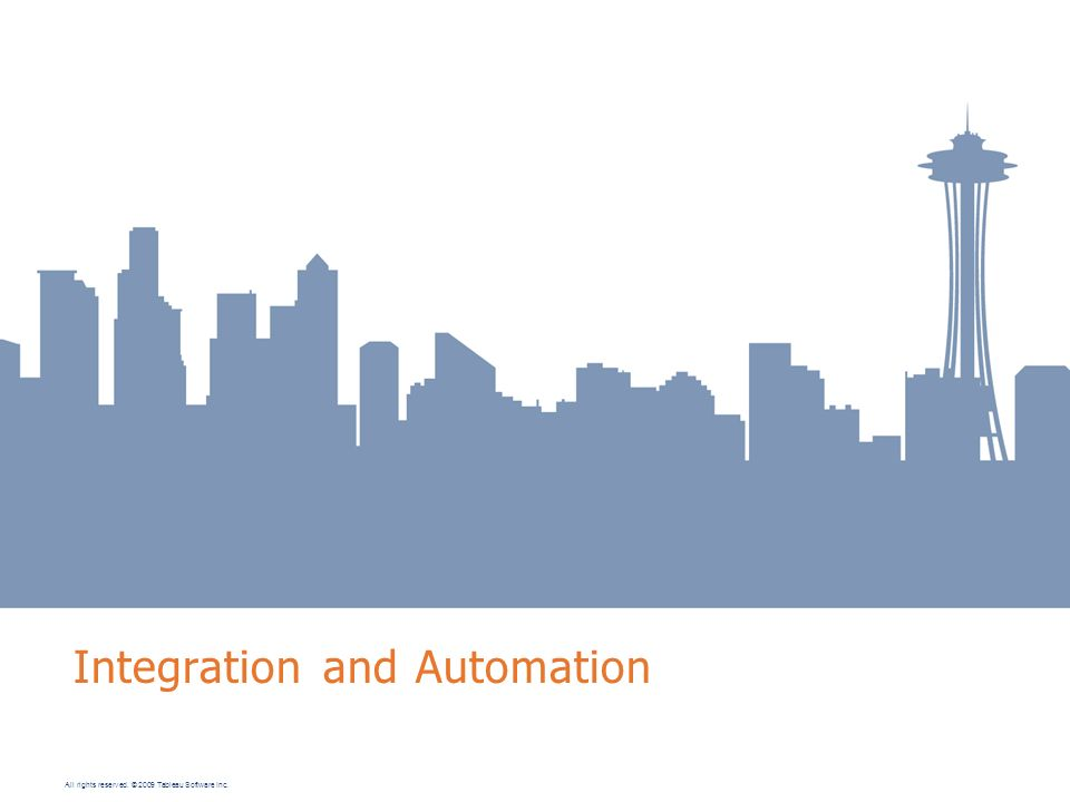 Integration and Automation