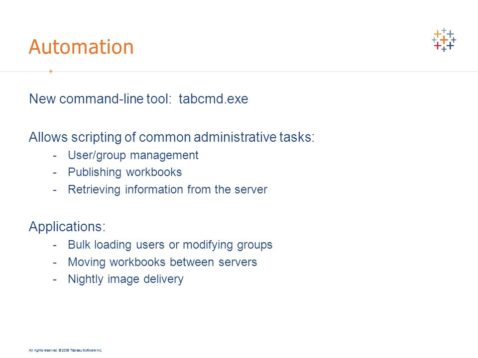 Implementing Tableau Server in an Enterprise Environment - ppt download