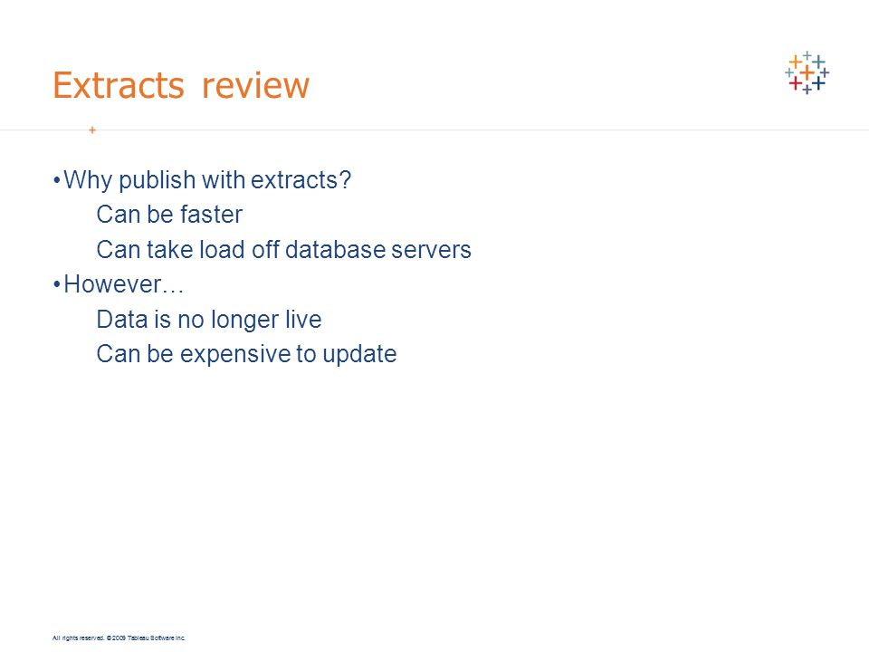 Extracts review Why publish with extracts Can be faster