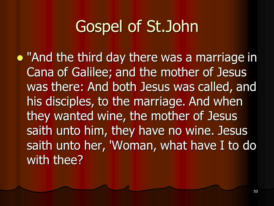 Gospel of St.John