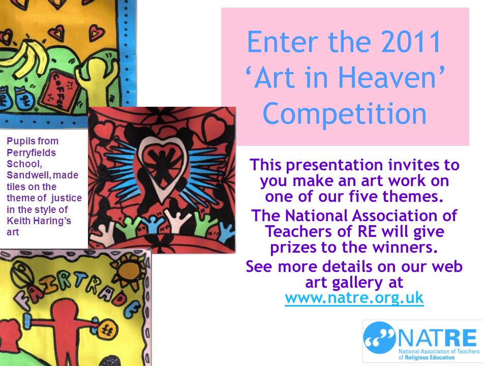 Enter the 2011 'Art in Heaven' Competition
