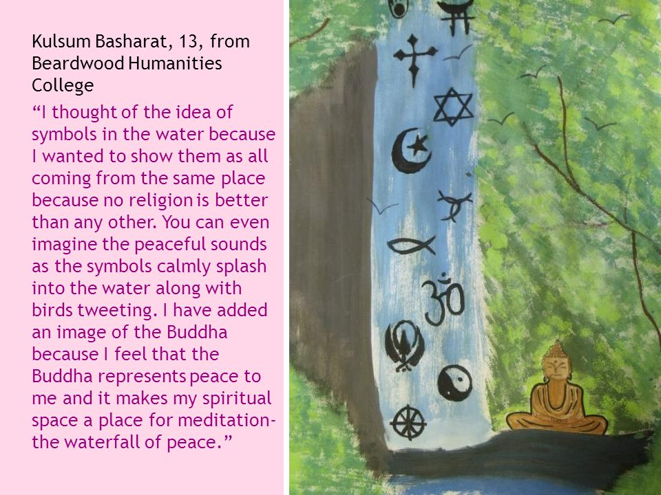 Kulsum Basharat, 13, from Beardwood Humanities College
