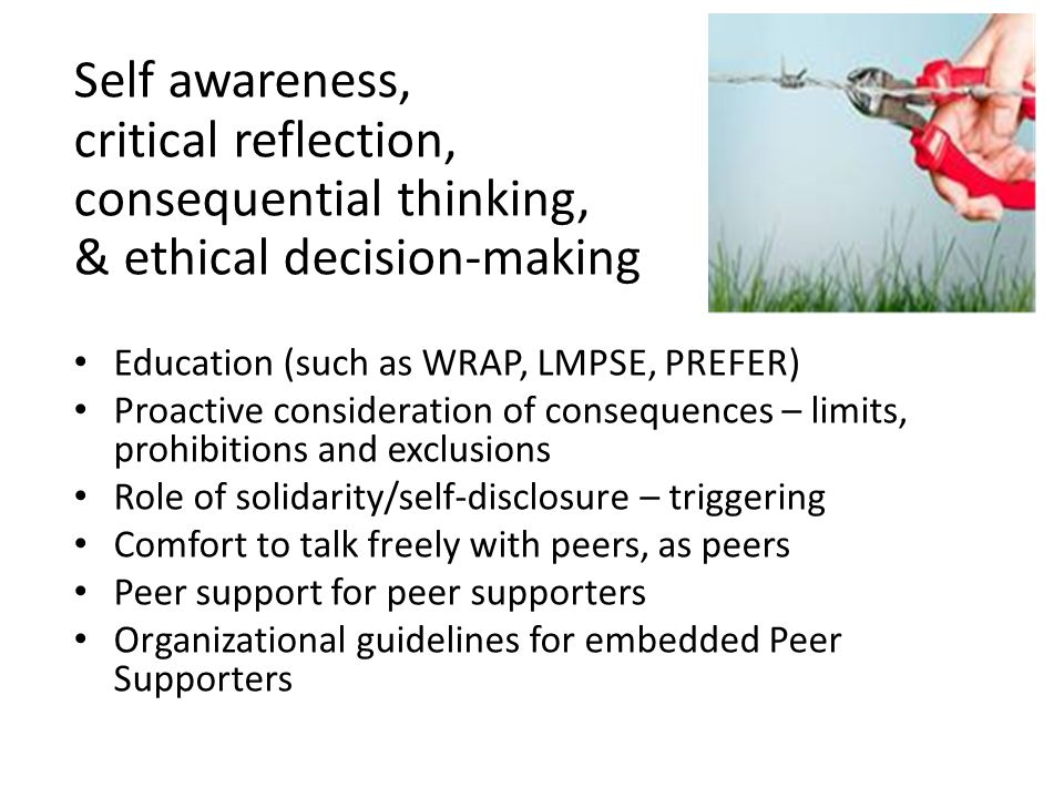 consequential thinking, & ethical decision-making
