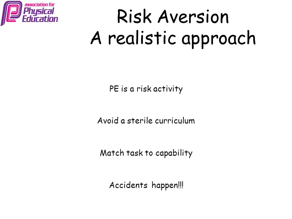 Risk Aversion A realistic approach