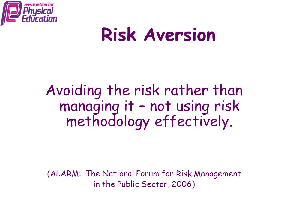 (ALARM: The National Forum for Risk Management