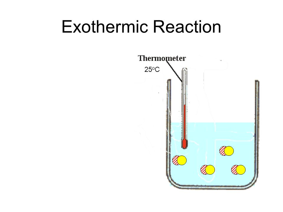 Exothermic Reaction 25oC