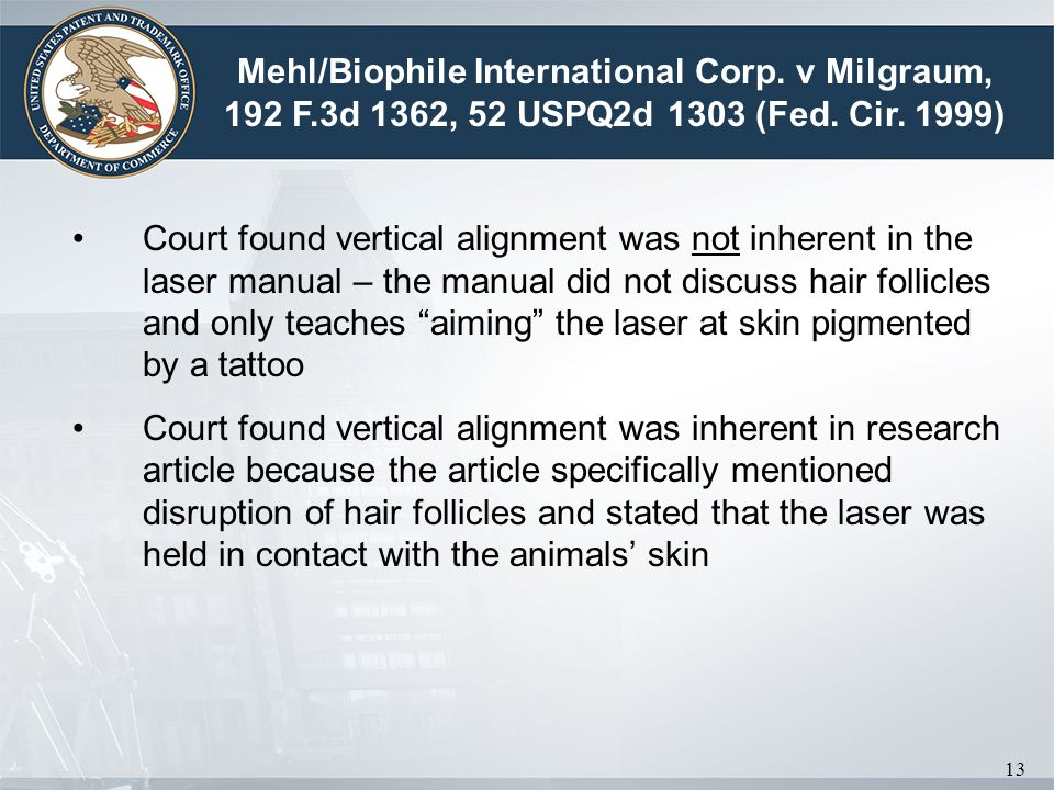 Mehl/Biophile International Corp. v Milgraum, 192 F