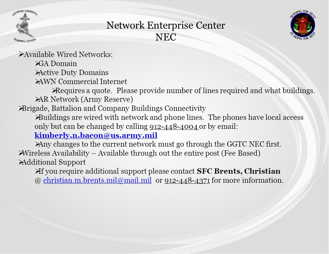 Network Enterprise Center