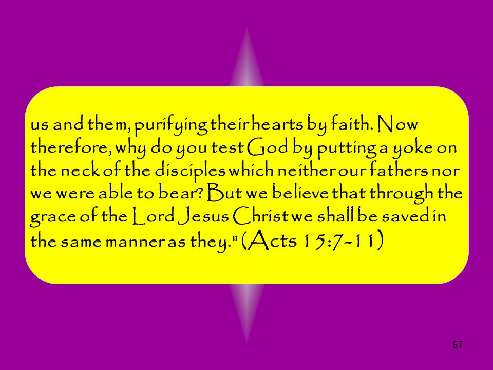 us and them, purifying their hearts by faith
