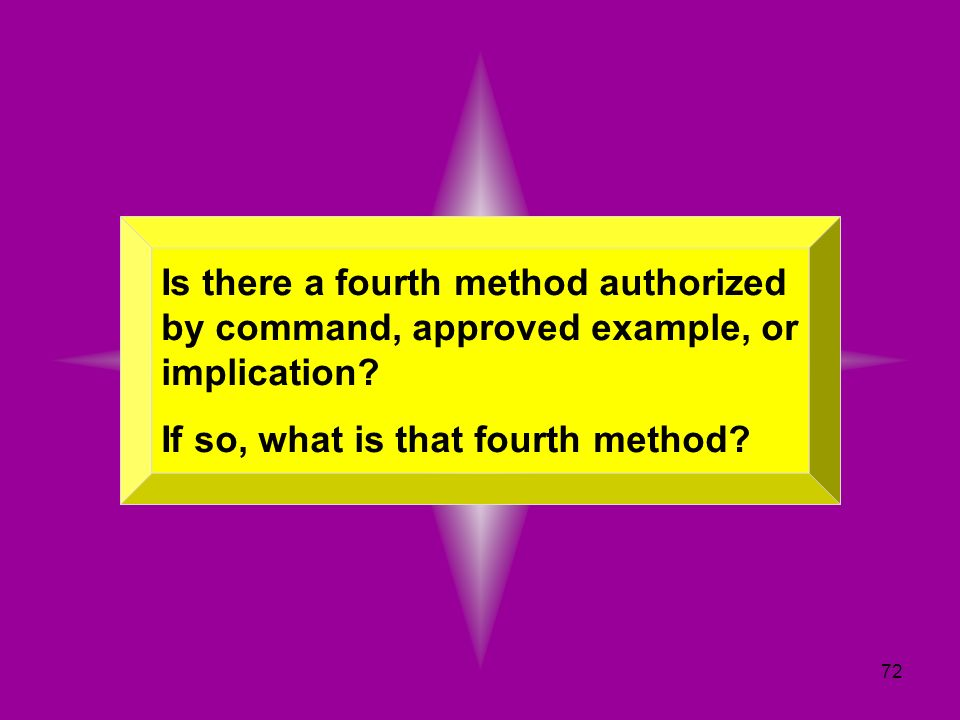 Is there a fourth method authorized by command, approved example, or implication