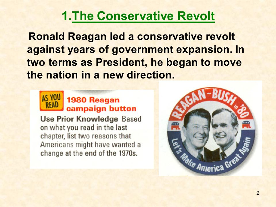 The Conservative Revolt