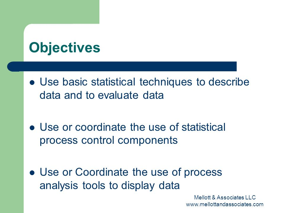 Statistics for the Healthcare Quality Professional - ppt