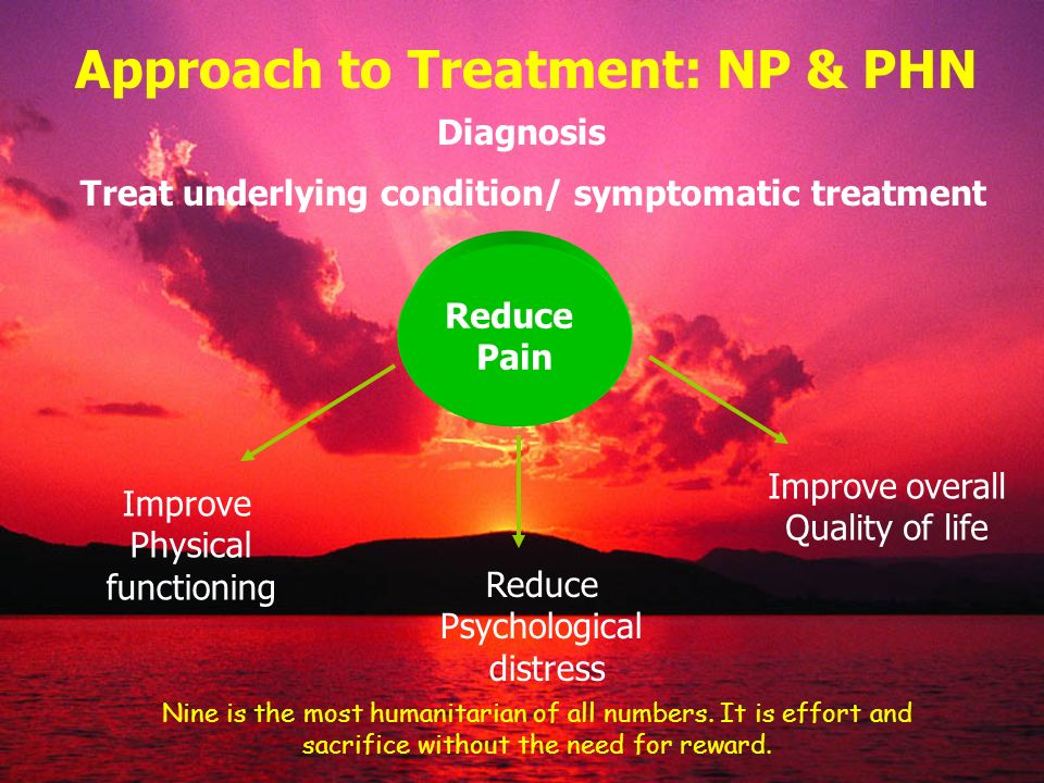 Approach to Treatment: NP & PHN