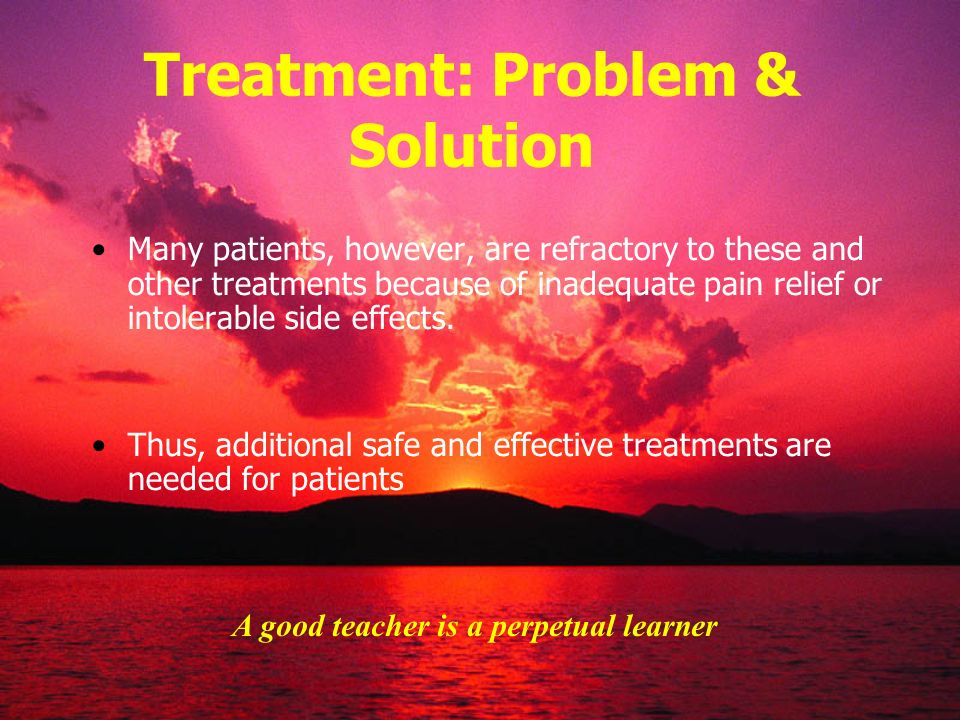 Treatment: Problem & Solution