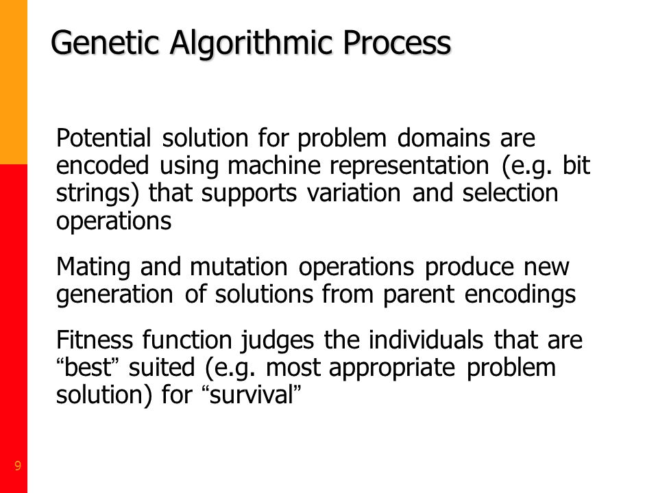 Genetic Algorithmic Process