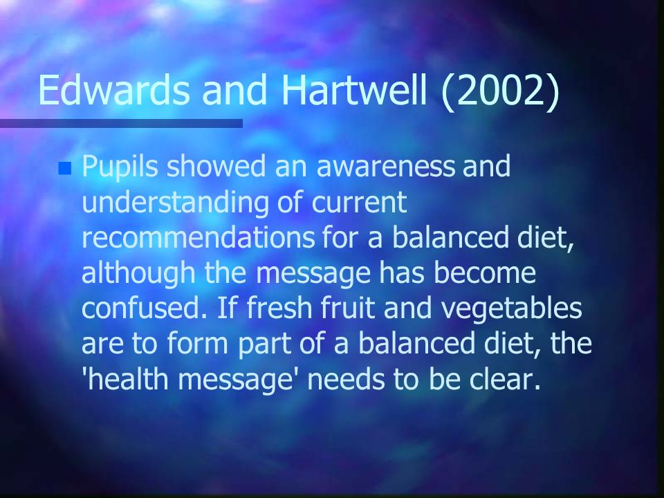 Edwards and Hartwell (2002)