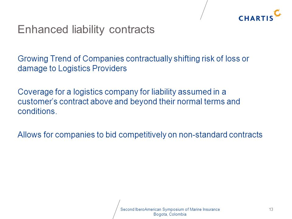 Enhanced liability contracts