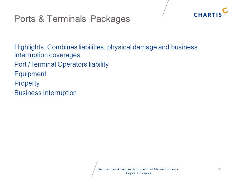 Ports & Terminals Packages