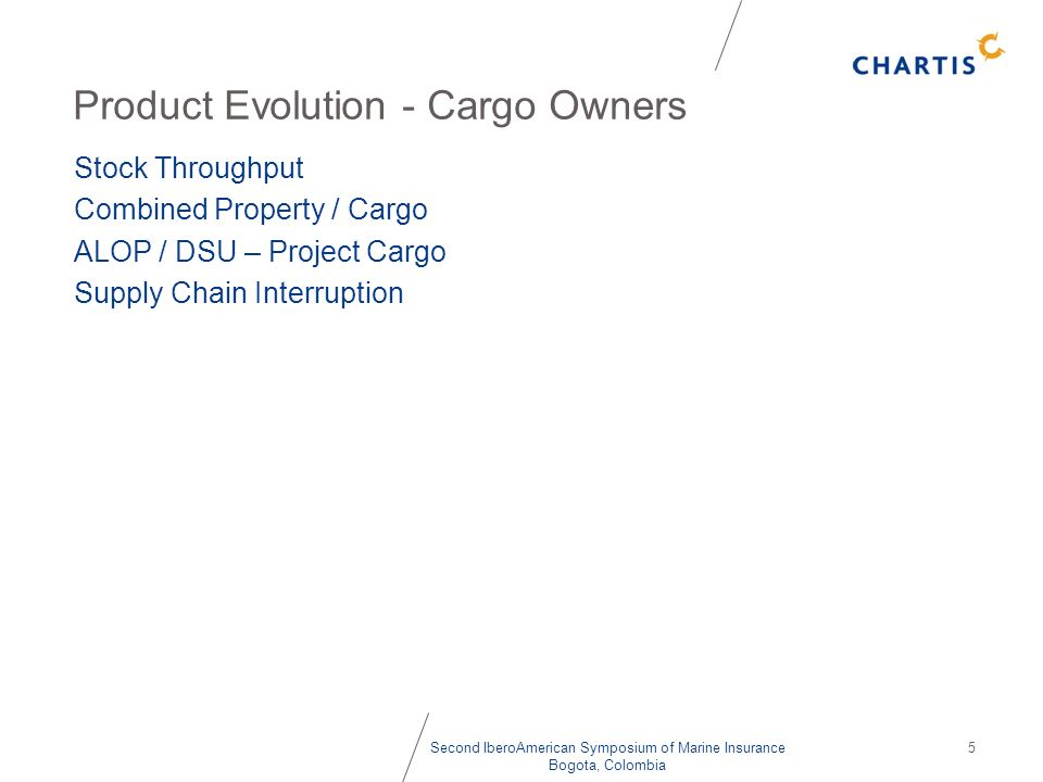 Product Evolution - Cargo Owners