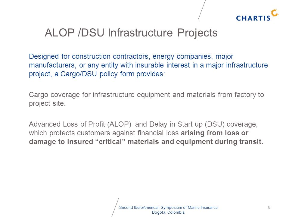 ALOP /DSU Infrastructure Projects