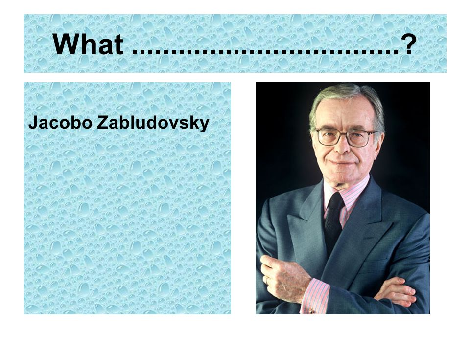 What Jacobo Zabludovsky