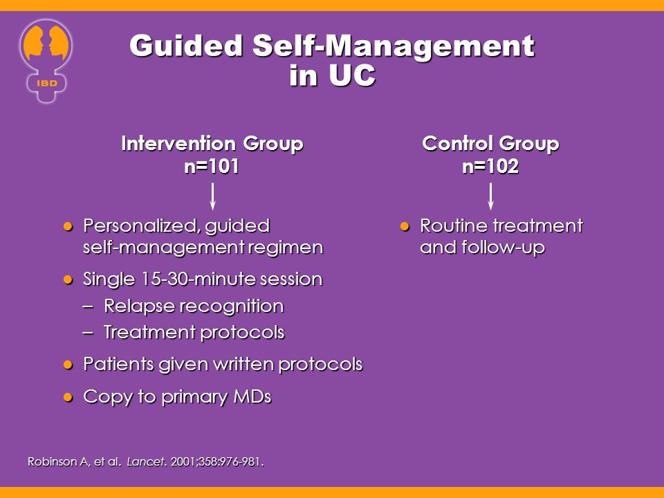Guided Self-Management in UC
