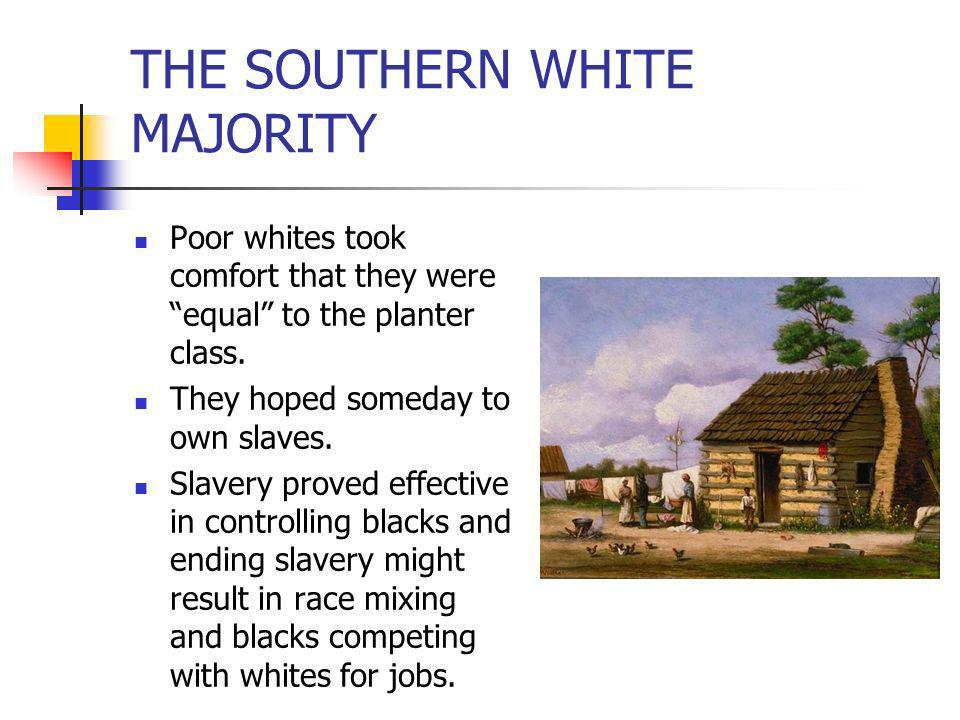 THE SOUTHERN WHITE MAJORITY